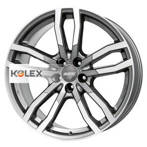 ALUTEC DRIVEX 8.5/19 5/108 63.4 40 Metal Grey Front Polished